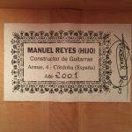 Manuel Reyes Hijo 2001 3