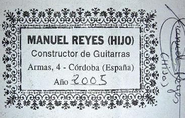 Manuel Reyes (Hijo)