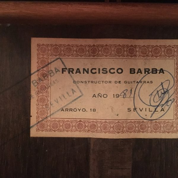 Francisco Barba 1981 2