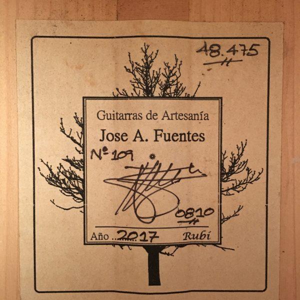 José A. Fuentes 2017 109 3