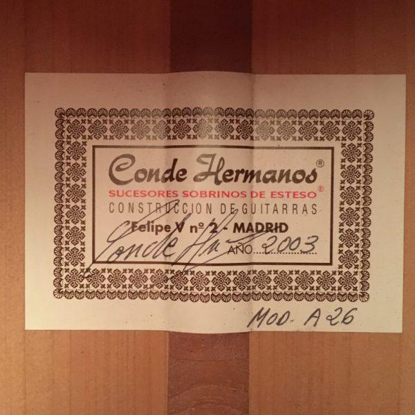 Conde Hermanos A26 2003 rosas 3